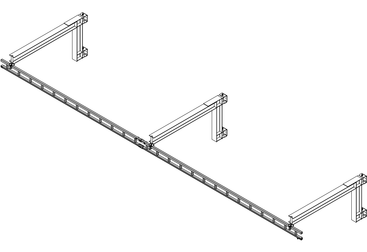Rigid Rail Anchor Systems   Metreel Inc