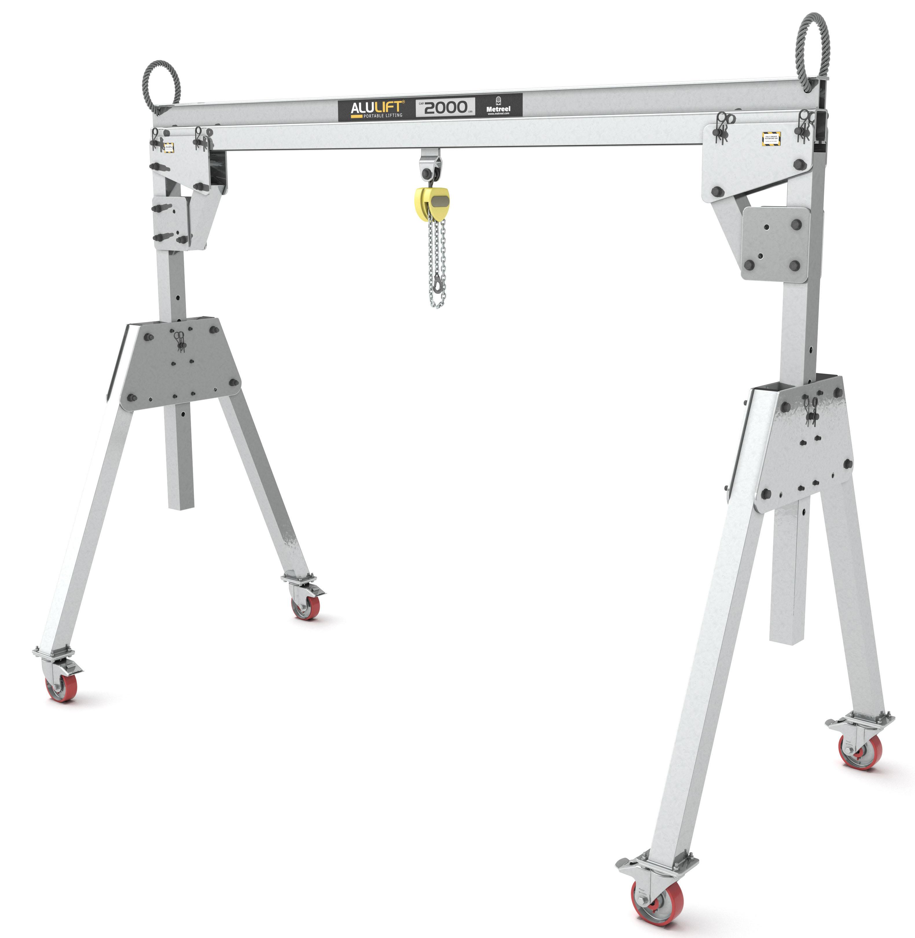 Alulift Portable Aluminum Gantry Crane