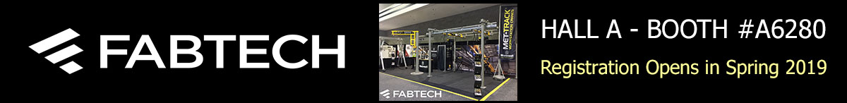 FABTECH-2019-metreel-inc-booth-a2680